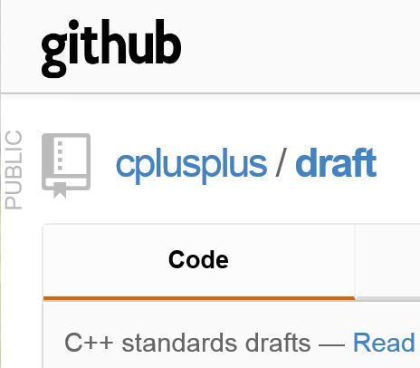 The Standard : Standard C++